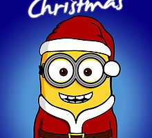 Santa Minion - Version 2 (without snow) | THE PERFECT CHRISTMAS CARD FOR YOUR FRIENDS by lemontee