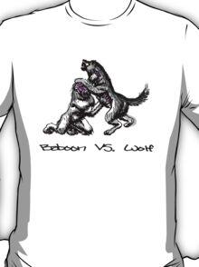 Baboon Vs, Wolf T-Shirt