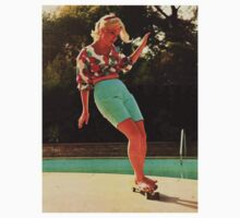 Patti Mcgee - Worlds First Female Professional Skater by Damundio