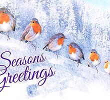 Round Robin - Seasons Greetings by ifourdezign