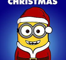 Santa Minion - Version 4 | THE PERFECT CHRISTMAS CARD FOR YOUR FRIENDS by lemontee