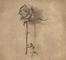 """""""RoseForMama""""  by Sergei Rukavishnikov by Alenka Co"""