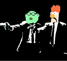 Beaker & Bunson Fiction by justin13art