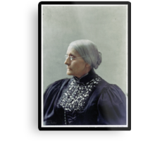 Susan B. Anthony, ca. 1900 Metal Print
