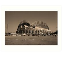 Miller Park - Milwaukee Brewers Art Print