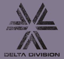 Almost Human Delta Division (Black) by The World Of Pootermobile