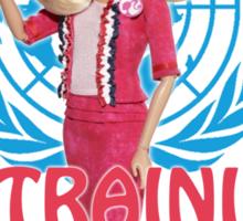 Leader in training Sticker