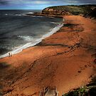Bells Beach Victoria by Murray Swift