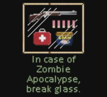 In case of zombie apocalypse break glass by bellingk