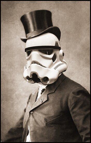Portrait of a Sir Stormtrooper by KAMonkey