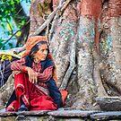Nepalese woman by Alan Robert Cooke
