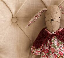Maggie Rabbit with Cape by Porcupinejane