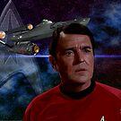 James Doohan - Chief Engineer Montgomery Scott (Scotty) by Andrew Wells