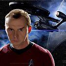Simon Pegg - Chief Engineer Montgomery Scott (Scotty) by Andrew Wells
