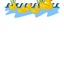 Rubber Duck Family by kwg2200