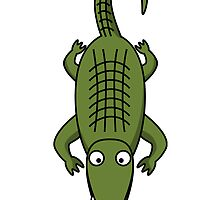Cartoon Crocodile by kwg2200