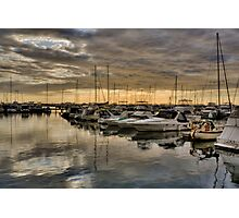 Hillarys Boats in Landscape Photographic Print