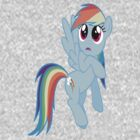 Just A Rainbow Dash Of Glitter by MyLittleLindsay
