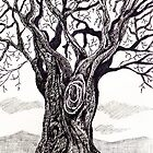 'GNARLY OLD TREE'  by Jerry Kirk