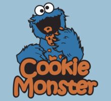 Sesame Street - Cookie Monster by monkeybrain