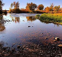 River Bed...Snake River...... Star, Idaho by trueblvr