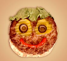 Happy Burger by Roger Otto