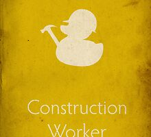 Construction Worker  by SVaeth