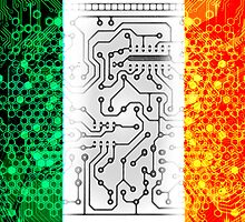 circuit board ireland(Flag) by sebmcnulty