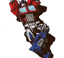 Optimus Prime  by da-da-dashik