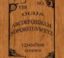 Ouija Pad by Cliff Vestergaard