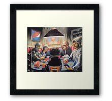 The Placebo Eaters Framed Print