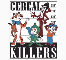 Cereal Killers Nerd Universitee T-Shirt by NerdUniversitee