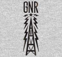 Galaxy News Radio Rock Gradient Kids Clothes