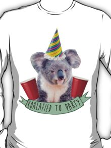 Koala-fied To Party T-Shirt