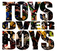 TOYS over BOYS by justin13art