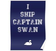 I Ship Captain Swan Poster