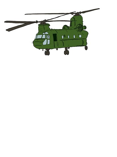 Chinook Helicopter by kwg2200