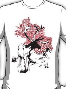 Reindeer drawing T-Shirt