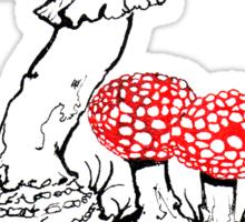 Amanita Muscaria Sticker