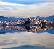 The double beauty of Kastoria by Hercules Milas