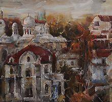 From the Terrace II - Last Sun Rays by Stefano Popovski