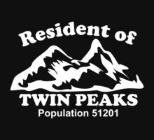 Twin Peaks by monkeybrain