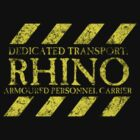 Rhino is my Dedicated Transport by simonbreeze