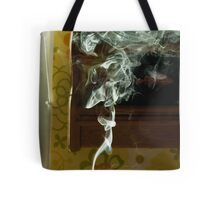 Smoke from a candle Tote Bag