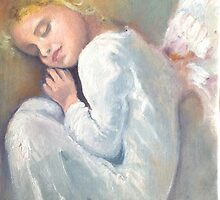Sleepy Angel by dorina costras