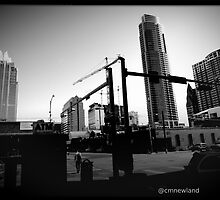 Downtown Construction. Austin, Texas. by Christopher  Newland