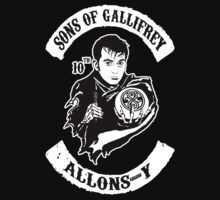 Sons of Gallifrey - Allons-y by kingUgo