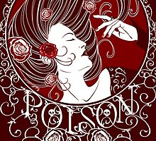 Poison - Blood Rose Full Illustration by Samantha Johnson
