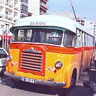 Antique Maltese bus by bubblehex08