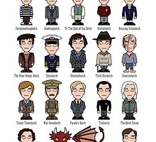 A Field Guide to the Common Cumberbatch (print or poster) by redscharlach